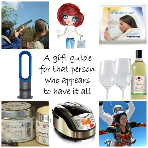 A gift guide for that person who appears to have it all