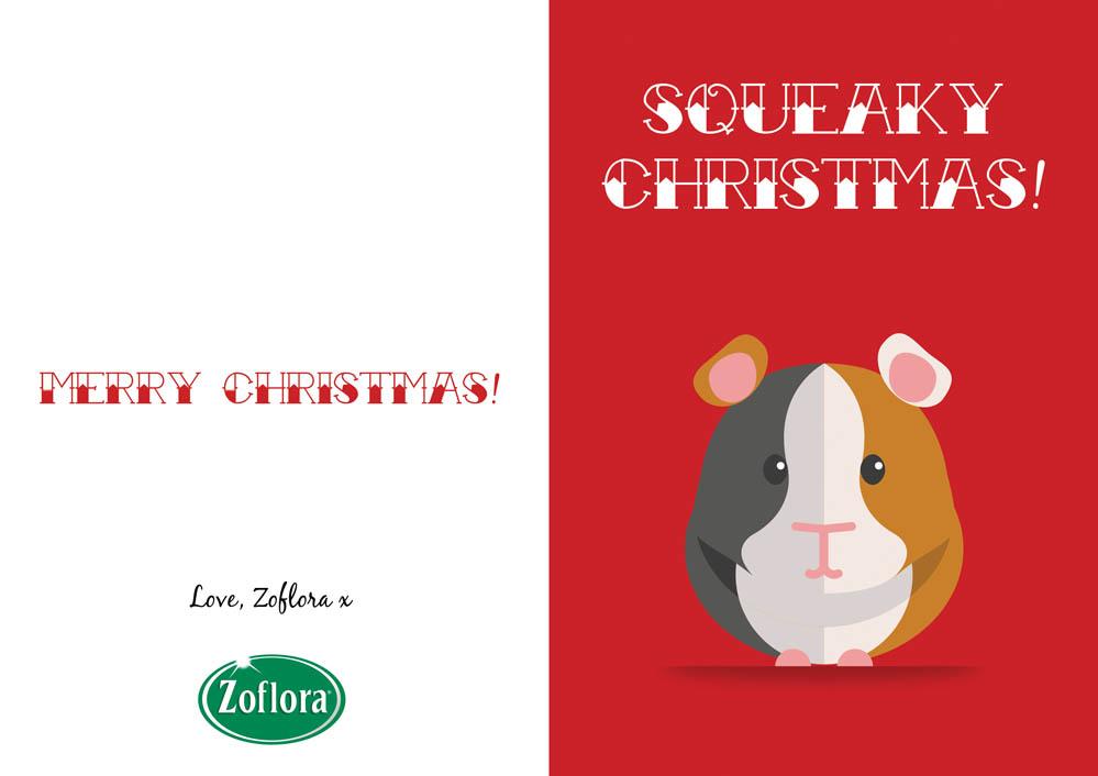 Printable christmas cards bark time guinea pig printable christmas cards from zoflora m4hsunfo