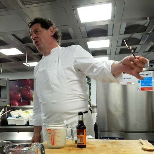 Marco Pierre White at Unilever Kitchen