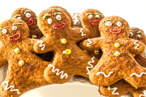 What's Cooking - Christmas Gingerbread Man Cookies