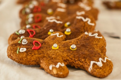 What's Cooking -- Christmas Gingerbread Man Cookies