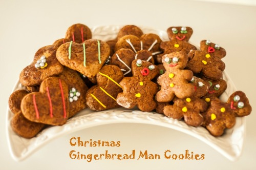 What's Cooking – Christmas Gingerbread Man Cookies