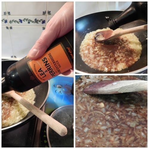 Worcestershire Steak Sauce ala Marco Pierre White - adding Worcestershire Sauce
