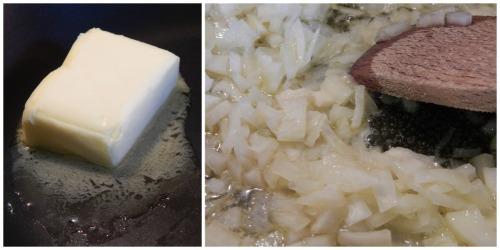 Worcestershire Steak Sauce ala Marco Pierre White - onion stage