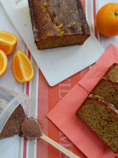Chocolate and Orange Drizzle Cake