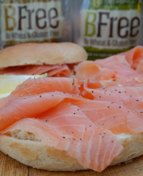 #NationalBreakfastWeek BFree Bagels with Smoked Salmon