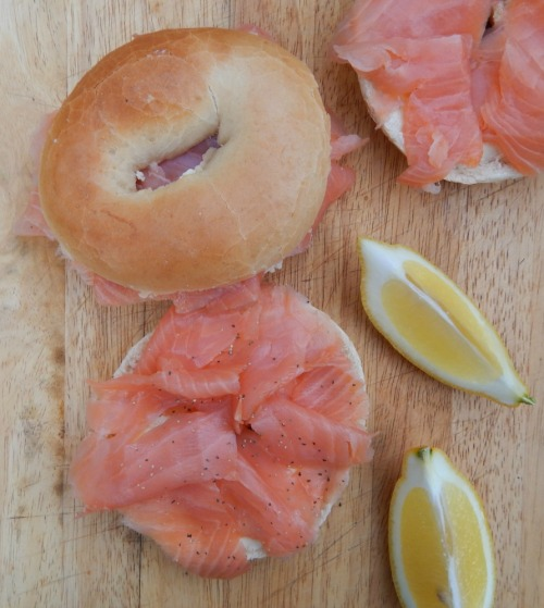 #NationalBreakfastWeek - BFree Bagels with Smoked Salmon