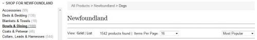 PetsPyjamas advanced search