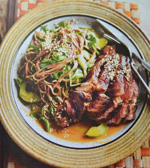 Steak & Soba Noodle Salad