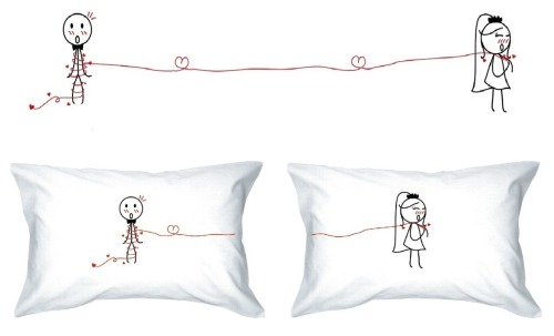 Getting Ready for Valentine's Day - Love Pillow Cases