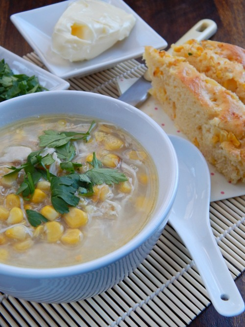 What's Cooking - Chicken  & Sweetcorn Soup