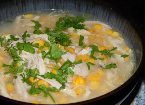 What's Cooking – Chicken  and Sweetcorn Soup